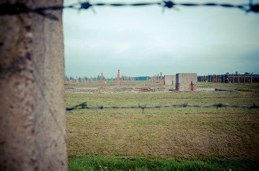 Holocaust, Majdanek, Poland, Barbwire, Fence