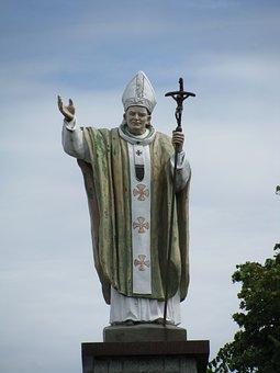 Figure, Pope John Paul Ii, Pope, Lichen