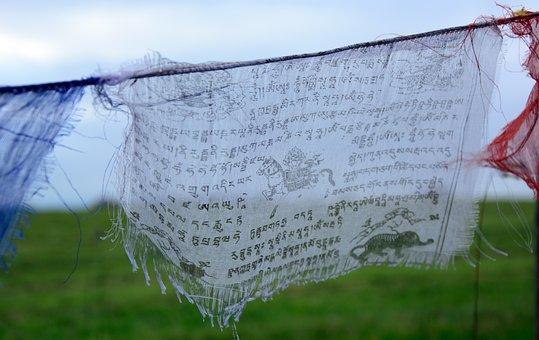 Prayer Flag, Buddhism, Believe, Flag, Prayers, Prayer