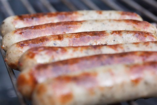 Bratwurst, Sausage, Sausages, Barbecue, Grill, Heat