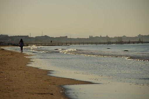 Sea, Sun, Holiday, In The Morning, A Walk, Waves, Heat