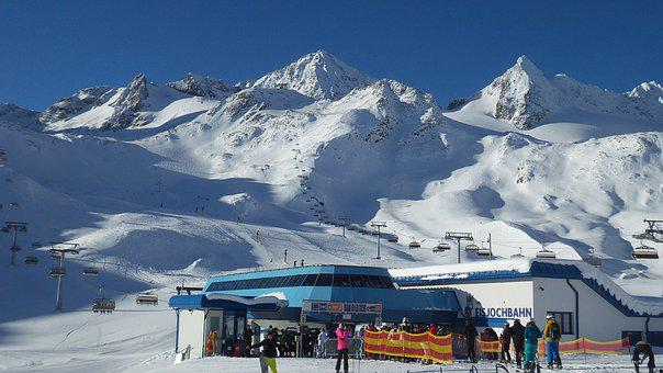 Alps, Mountains, Snow, Snowy Alps, Winter Holidays