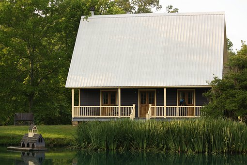 Cottage, House, Cabin, Lake, Waterfront, Tranquil