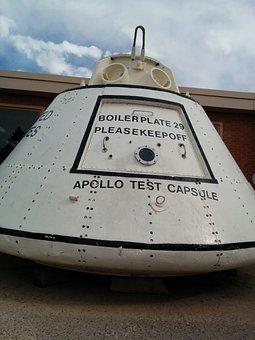 Space Travel, Apollo Test Capsule, Apollo, Nasa
