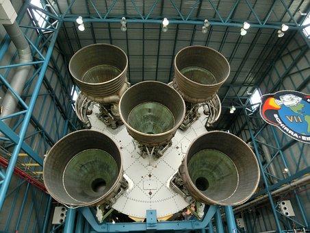 Rocket Propulsion, Engine, Usa, Nasa, Apollo Program