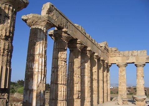 Selinunte, Temple, Monument, Greek, Architecture