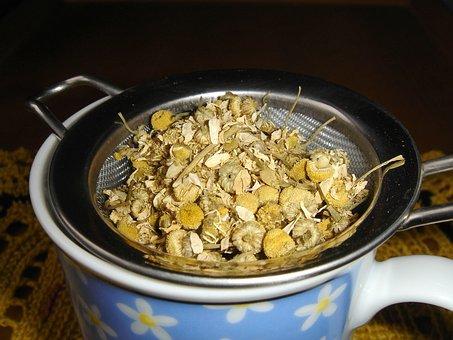 Chamomile, Chamomile Blossoms, Chamomile Tea, Healthy