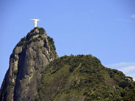 Corcovado, Christ, Rio De Janeiro, Christ The Redeemer