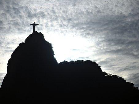 Corcovado, Rio De Janeiro, Christ The Redeemer, Brazil