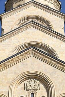 Georgia, Tbilisi, Cathedral, Trinity, Church