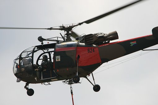 Helicopter, Copter, Chopper, Aircraft, Aviation
