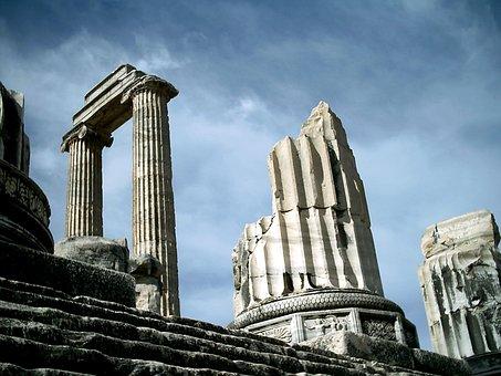 Didyma, Temple Of Apollo, Turkey, Monuments, Greeks