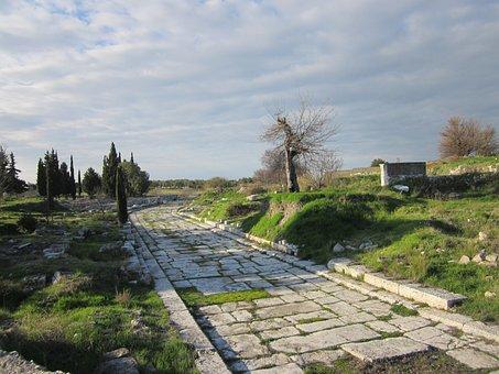 Didim, Didyma, Apollo Temple, Landmark, Culture, Ruins