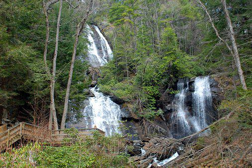 Anna Ruby Falls, Falls, Waterfall, Nature, Park