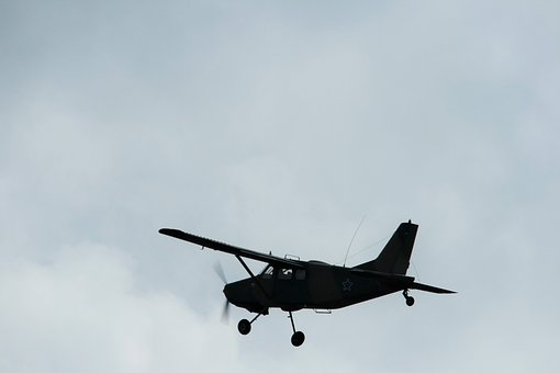 Airplane, Fixed Wing, Bosbok, Flying, Air Borne, Sky
