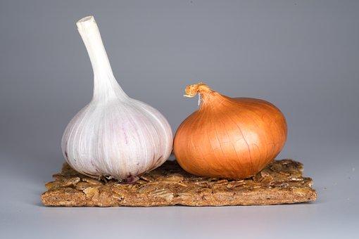 Garlic, Onion, Food, Spices, Taste, Health, Kitchen