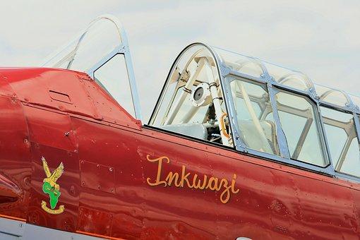 Fixed Wing Aircraft, Harvard, Canopy, Inkwazi, Eagle
