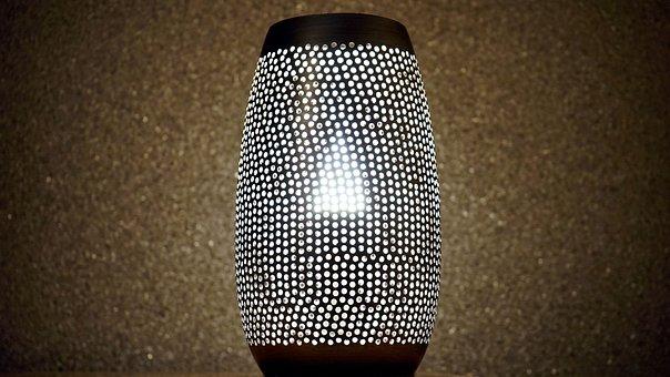 Lamp, Bright, Light, Design, Interior, Electric