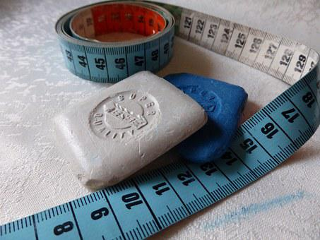 Tailor's Chalk, Sew, Nähutensilien, Handarbeiten, Meter