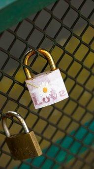 Padlock, Love, Symbol, Lock, Romance, Bridge, Romantic