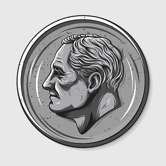 Roosevelt Dimes, Dime, Roosevelt, Money, Coin, American