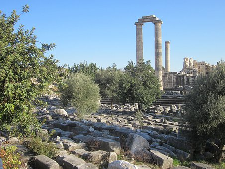 Apollo Temple, Didim, Didyma, Landmark, Culture, Ruins