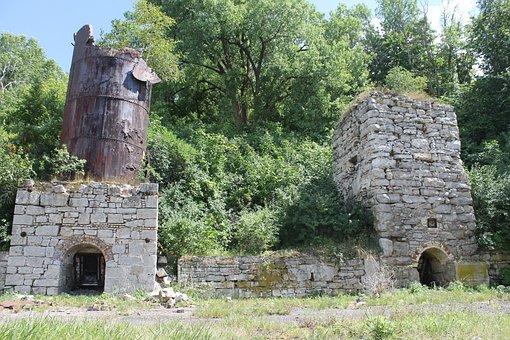 Ruins, Lime Kiln, Stone Work