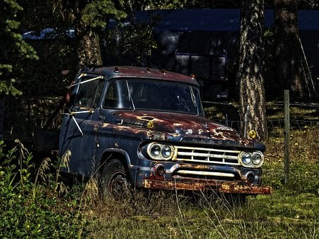Old, Dodge, Truck, Rusty, Metal Vehicle, Old Timer, Hdr
