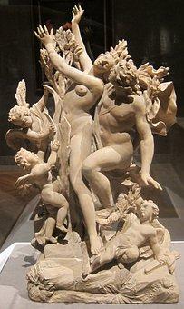 Terracotta, Sculpture, Apollo, Daphne, Massimiliano