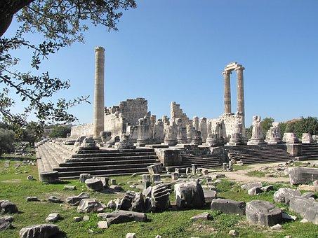 Didyma, Temple, Turkey, Apollo
