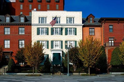 Washington Dc, C, City, Urban, Downtown, Blair House