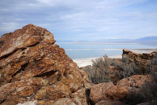 Great Salt Lake, Antelope Island, Utah, United States