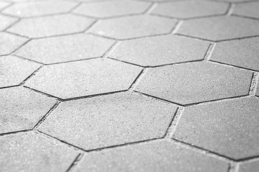 Geometric, Background, Concrete, Pavement, Sidewalk