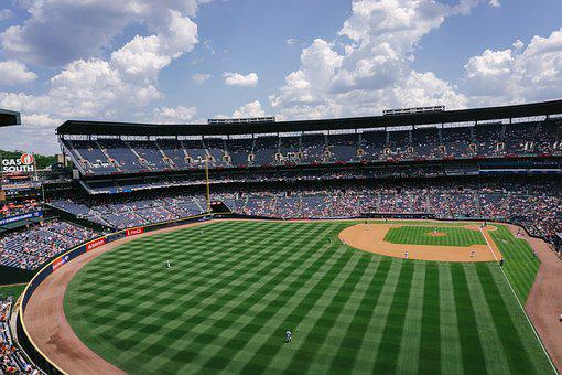 Athletes, Ballpark, Baseball, Competition, Game