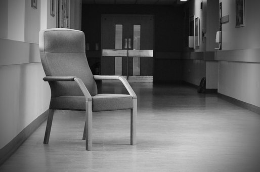 Chairs, Chair, Hall, Corridor, Building, Inside, Lonely