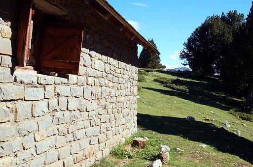 Landscape, Refuge, Cabin, Animal Shelter, Mountain Hut