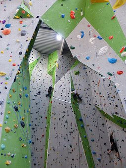 Climbing Wall, Climbing Hall, Climb, Climbing Holds