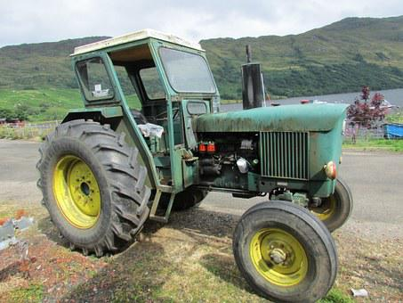John Deere, Old Tractor, Farm Machinery
