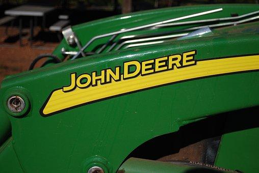 Tractor, Farm, John Deere, Machine, Agriculture