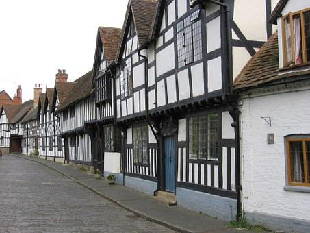 Stratford, Half-timbered, Buildings, Medieval