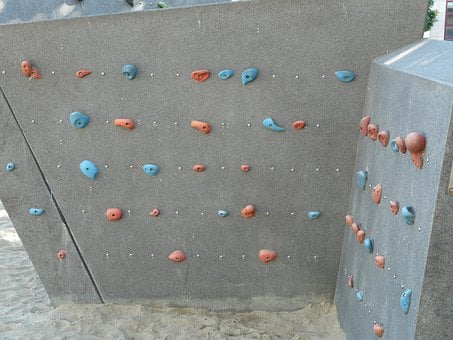 Climbing Wall, Climbing Holds, Climb, Handles