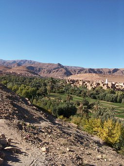 Morocco, Rocks, High Atlas, High Mountain, Todra Gorge