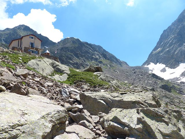 Rifugio Joyz Buzzi, Morelli Buzzi, Hike, Hiking
