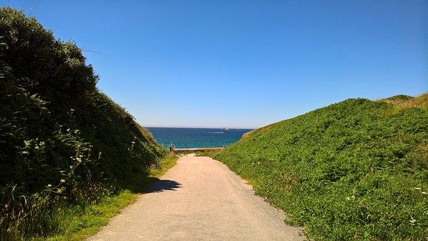 Side, Brittany, Sea, Ocean, Atlantic Ocean, Landscape