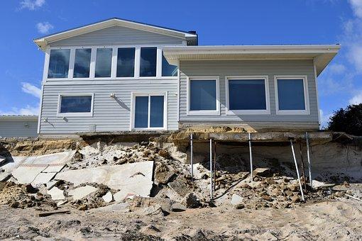 Beach Erosion, Hurricane Matthew, Damage, Landscape