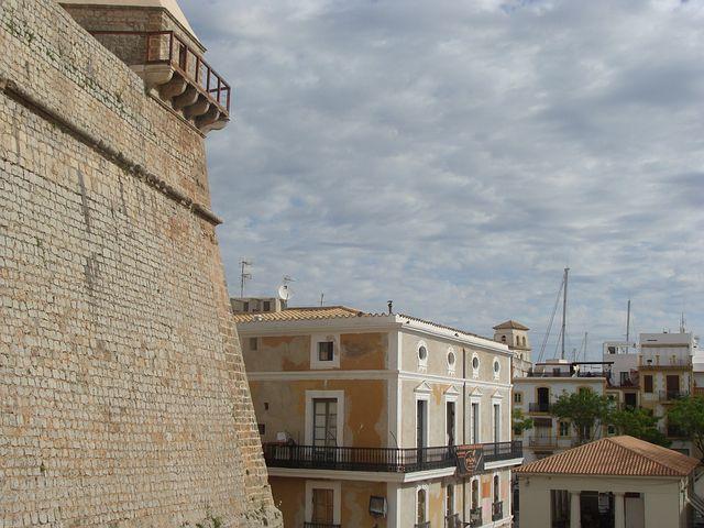 Villa Franch, Old, Rom, Clock Tower, Building, Stones