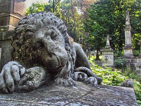 Cemetery, Lychakiv Cemetery, Sculpture, Necropolis