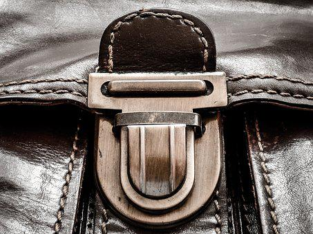 Bag, Skin, Buckle, Lock, Leather Goods, Old, Fashion