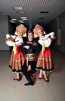 Russian, Traditions, Folk Dance, Fashion, Clothing