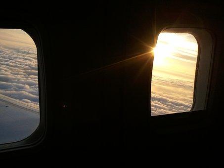 Airplane, Window, Flight, Aircraft Window, Flying